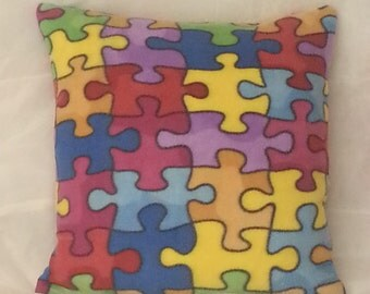 New! JIGSAW CUSHION!