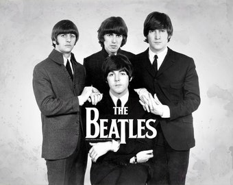 The Beatles Large A1 Poster