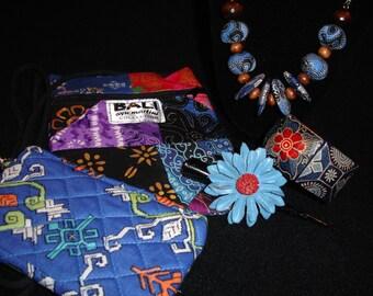 Bali 5 piece handbag gift set