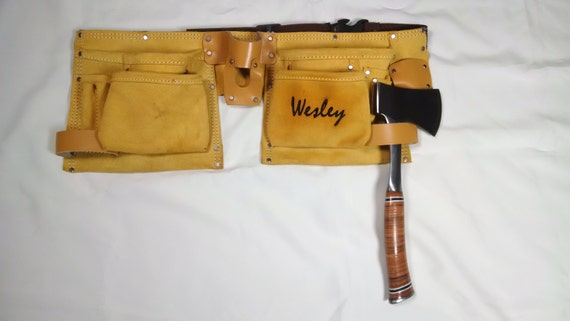 Personalized Tool Belt and Axe - Gifts - Kids - Teenage Boys