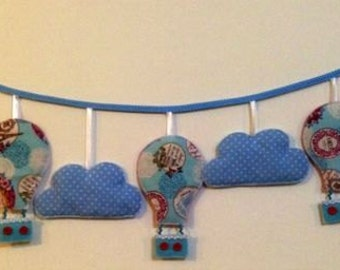 Balloon  mobile, air balloon wall decoration,