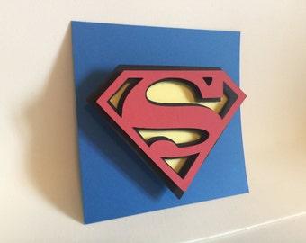 Superman, Superman Symbol, Superman Cut Out, Superman 3D