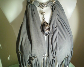 scarf jewelry for woman