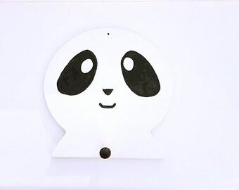Childrens Panda Wall Hook, Nursery, Children's Bedroom