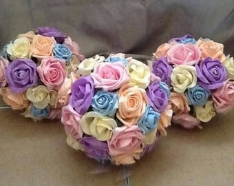 Artificial Wedding Flowers Package, Bridal Bouquet, Bridesmaid, Buttonhole, Wedding Bouquet, Fake Flowers, Brides bouquet