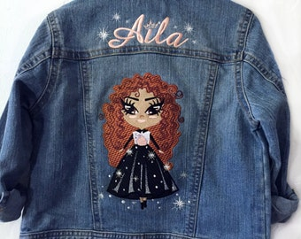 Custom Personalized Child Embroidered Jacket