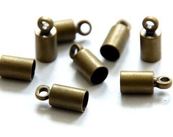 10 end caps 3 mm
