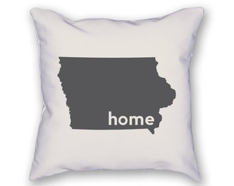 Iowa Home Pillow