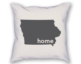 Iowa Home Pillow