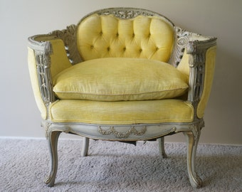 Custom Upholstery - Vintage Victorian Chair - SOLD