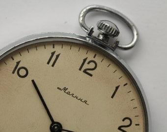 Soviet watch.3602.Open Face.Vintage watch.Mechanical watch.Pocket Watch.Collectible.