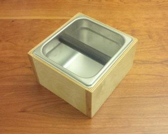 Espresso Grind Knock Box V4