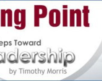 Starting Point: 4 Easy Steps Toward Leadership