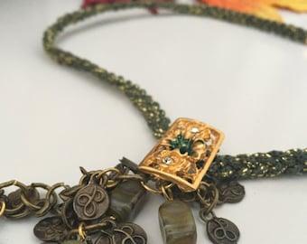 Handmade Mediterranean Necklace