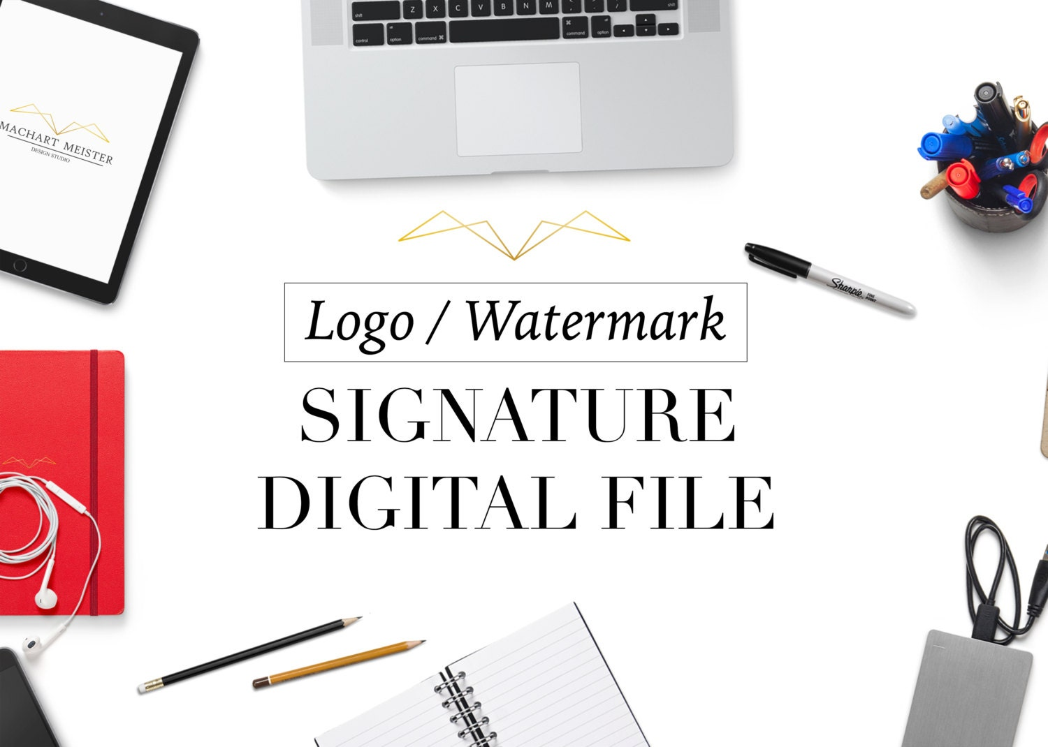 Create your own watermark paper