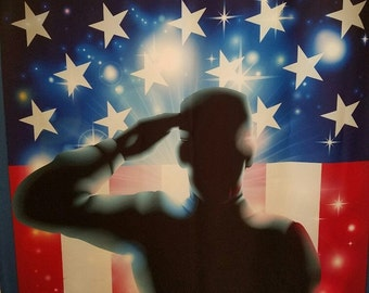 American Soldier, Military, Shower Curtain FREE SHIPPING