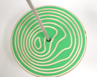 Disc Swing - Bengel - Green - Circles