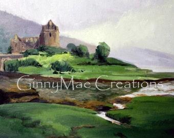 Scotland Castle - Oil Painting