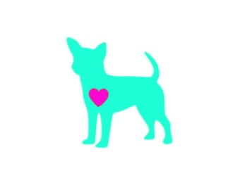 Chihuahua Puppy Vinyl Decal