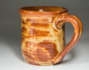 Mug, 8 oz with Shino glaze