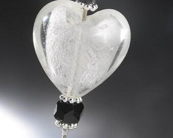 Murano Heart Brooch