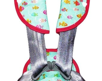 Kit protects-belt / protect-safety strap 'Fish' (baby and child)