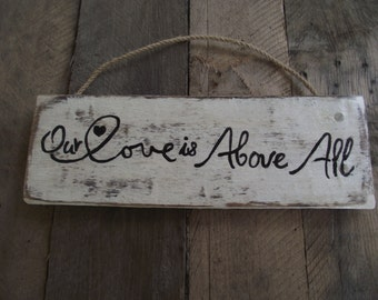 Air Force hand-painted sign | Rustic Air Force sign | Air Force couple gift | Air Force wife gift | Air Force wall sign
