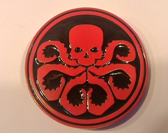 Hydra Buckle Red and Black