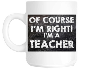School Teacher Novelty Gift Mug SHAN773