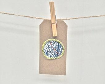 Handmade Textiles Brooch