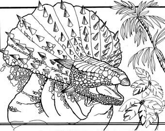 Crested Ankylosaur
