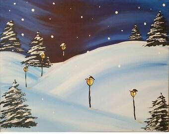 Lamplight Winter