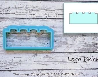Lego Brick Cookie Cutter / Lego cookie cutter / Fondant Lego cutter / Cookie cutter / Fondant cutter