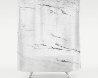 Marble shower curtain, grey shower curtain, marble texture, elegant bath, masculine bath decor, marble bath decor, shower curtains, marbled