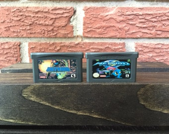 Metroid Zero Mission & Metroid Fusion Dual Game Pack - Nintendo GBA Reproduction