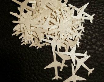 Pearl Airplane Confetti 100 pieces
