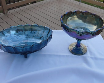 candydish center piece and pedestral fruit  bowl