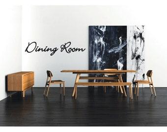 Dining Room Decal Vinyl Sticker For Your Home Decoration Deco Walls Doors Sleep Bed Door Sign