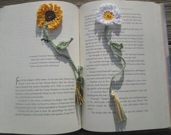 Daisy or Sunflower Bookmark