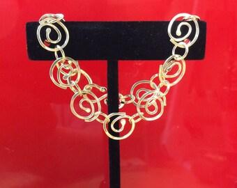 Argentium Sterling Silver bracelet hand made