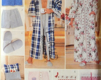 Uncut 1990s Butterick Vintage Sewing Pattern 5027, One Size; His & Hers Gifts
