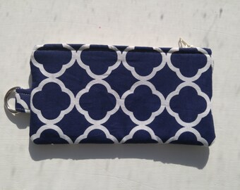 Nautical cell phone pouch