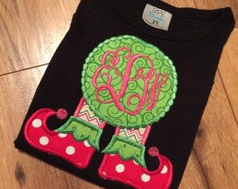 Elf feet shirt