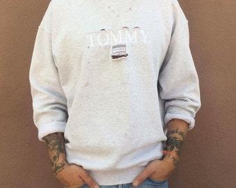 Vintage trashed Tommy favorite sweater