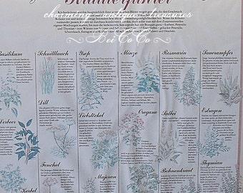 🌸 EINZIGARTIKER, large, ancient herbs - guide framed! 🌸