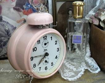 Antique shabby alarm clock