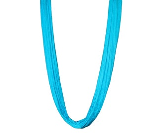 Aerial Yoga Hammock TURQUOISE, FREE Shipping in USA (multiple colors available)
