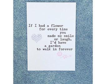 If i had a flower...print