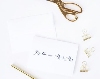 For the new Mr & Mrs | Newlyweds congratulations card | Wedding day congrats card | Wedding congrats card | To the happy couple F7