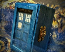 "Dr. Who 11th Doctor Van Gogh inspired Ringbox~Galifreyan writes ""You are loved by so many & so much and by no one more than me"" ~ River Song"